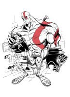 Kratos on the Krapper by Wescoast