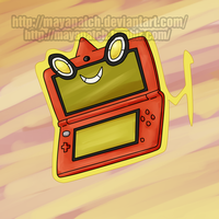 Rotom 3D! by MayaPatch