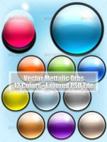 Vector Metallic Orbs by ahmadhania