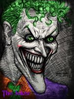 The Joker (pen sketch)by ~myconius by jokercrazy