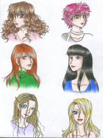 HP Girls_colour by FeindFyre