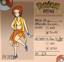 Mira - Pokemon Village APP (UPDATED) by infinitehearts