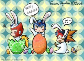 Happy Easter -boys- by Vay-demona