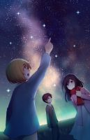 Tiny stargazing shingekis by longestdistance