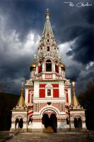 Shipka Russian Church by rhocaballero