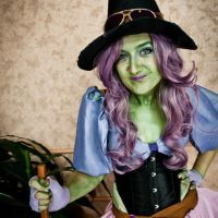 Karen Hallion's Wicked Witch by ScootyPuffJrSux