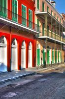 Colorful French Quarter by NB-PhotoArt