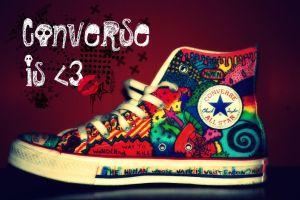 Converse is love. by Belzebub001