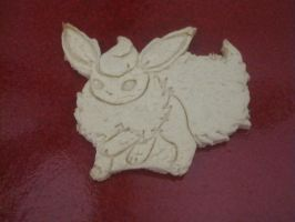 Flareon Cookie Baked by B2Squared