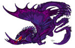 Myth Dragons Born From His Purple Scales by Serenity--Fantasy