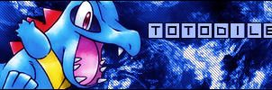 Totodile Signature by chidori69