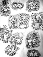 paper mario love and friendship by Goombarina