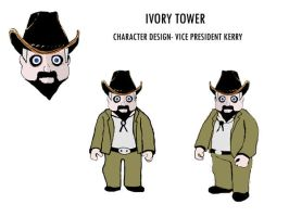 Ivory Tower 'kerry'' by stranger-than-me