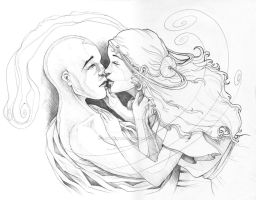 Aang and Katara by PrimeHunter