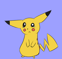 Pikachu by Tails-Crossing