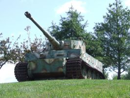 German Tiger tank Vimoutiers by Draco-occidentalis