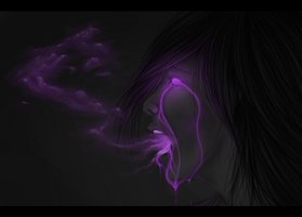 Speedpaint: Purple Toxicosis by heilei