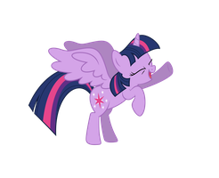 Princess Twilight is having fun by Martinnus1