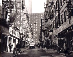Back Streets Of Chinatown, NYC by xThe-Royal-Dragonx