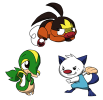 Characters Colored: The Starters by Zerochan923600