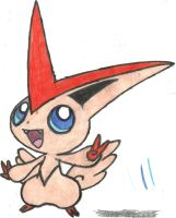 Victini Coloured by CoolMan666