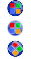 Windows start buttons by BloodSquirrel
