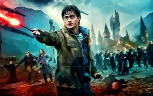 Harry Potter Digital Painting by Digipainthd