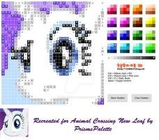 Rarity Animal Crossing New Leaf Pattern by PrismsPalette