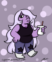 Steven Universe - Amethyst by caycowa