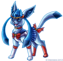 Sailor Glaceon by Deltheor