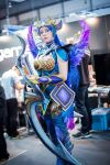 dark valkyrie diana by daraya by Daraya-crafts