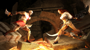 Kratos VS Nariko by James--C