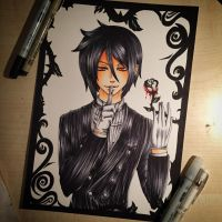 Sebastian - Black Butler by xxMi-ChansArtxx
