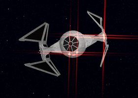 MMD Imperial Tie Interceptor by animaniac72