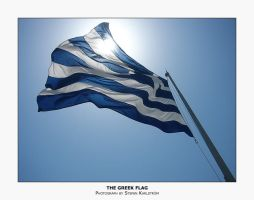 The Greek Flag by guffy