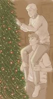 John shouldn't have let Sherlock pick the tree by milgarionangel