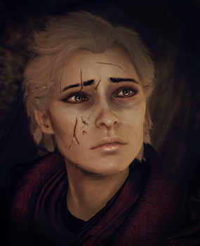 Evelyn Trevelyan screenshot edit by Kaeriah