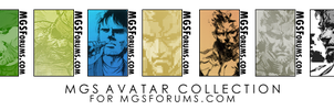 MGS Avatar Collection by OcelotSnake89
