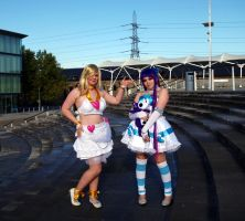 Panty and Stocking by Valliescosplay