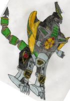 Green Dragonzord by Mugen-kun