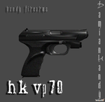 HK VP70 by DamianHandy