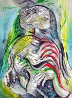 parakeet by artistinres