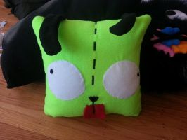 Gir Pillow by OddCurio