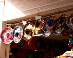 Mexican hats by jcphotos