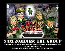 Nazi Zombies: The Group by spyash2
