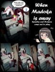 When Madoka is Away by CelesRicolne