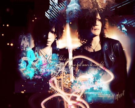 You are like a puzzle - KaixRuki by InTheDeepDark