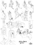 Della-Stock Gestures by slyshand