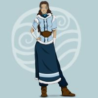 Our old friend: Katara by ZuTarart