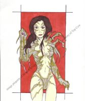 Sandra as the Witchblade by Chibiusa14